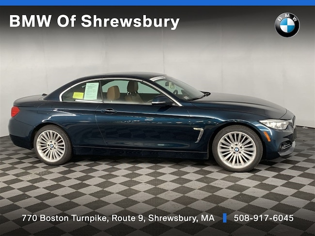 Certified Pre Owned 2015 BMW 428i xDrive w/SULEV Convertible Shrewsbury