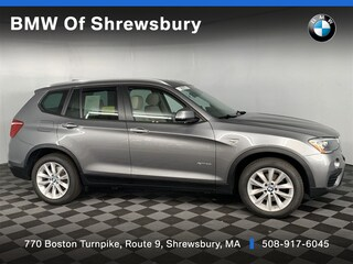 used 2017 BMW X3 xDrive28i SUV for sale near Worcester