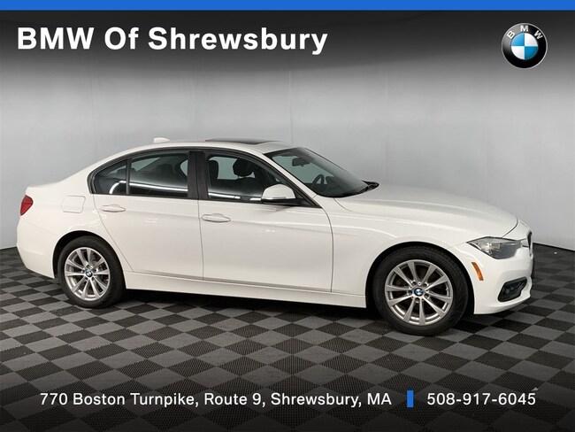 Certified Pre Owned 2017 BMW 320i xDrive Sedan Shrewsbury
