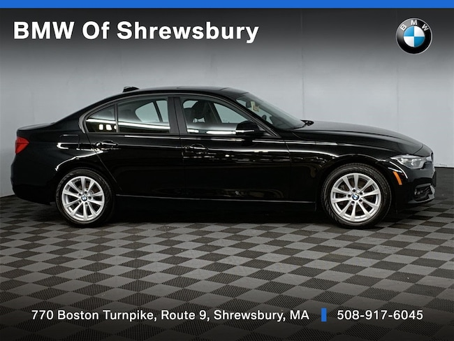 Certified Pre Owned 2018 BMW 320i xDrive Sedan Shrewsbury