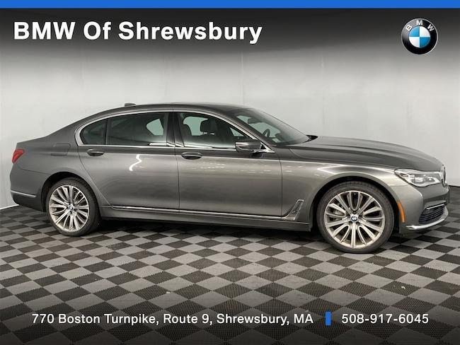 Certified Pre Owned 2016 BMW 750i xDrive Sedan Shrewsbury