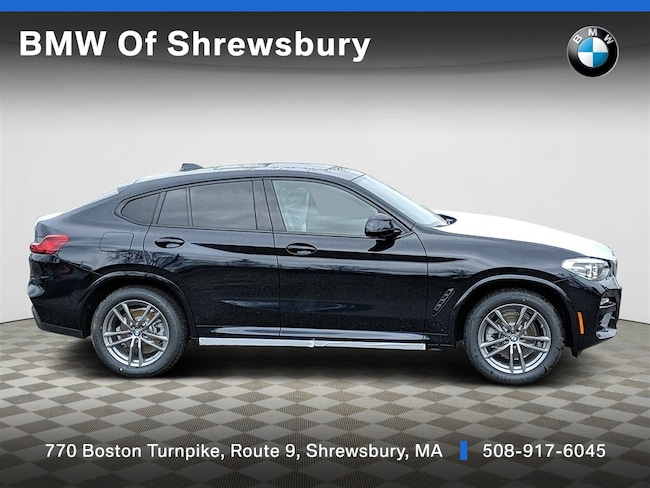 New 2019 BMW X4 xDrive30i Sedan Shrewsbury
