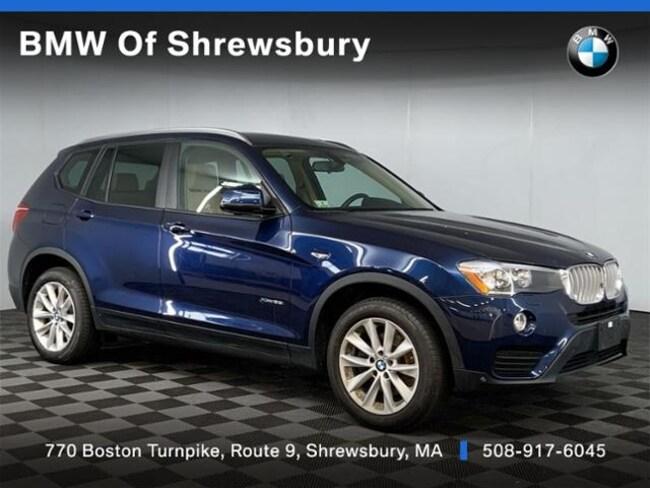 Used 2017 BMW X3 xDrive28i SUV Shrewsbury