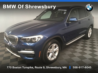 used 2019 BMW X3 xDrive30i SUV for sale near Worcester