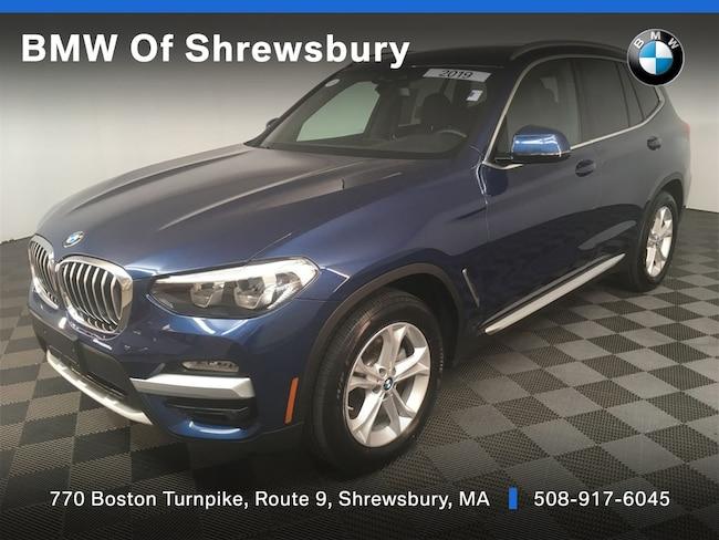 Used 2019 BMW X3 xDrive30i SUV Shrewsbury