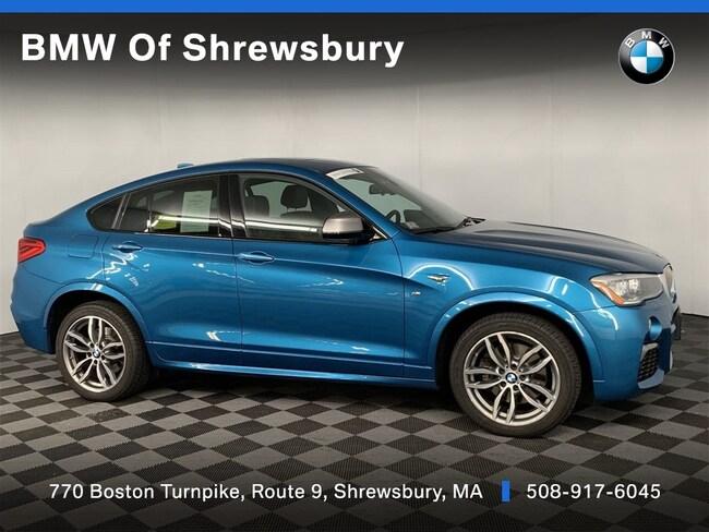Certified Pre Owned 2016 BMW X4 M40i SUV Shrewsbury