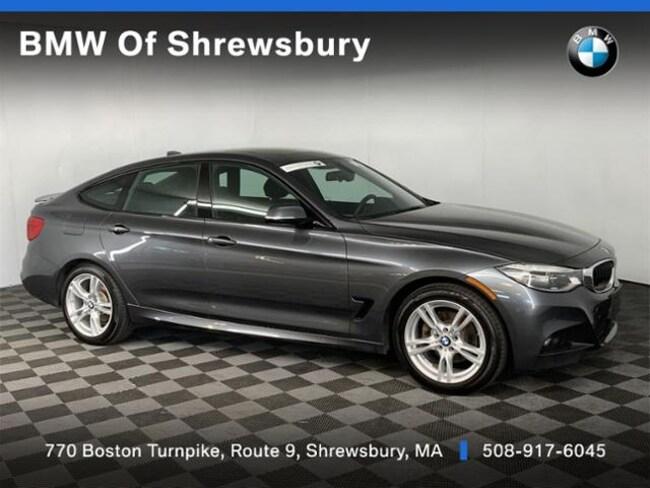 Certified Pre Owned 2017 BMW 330i xDrive GT M Sport Package Hatchback Shrewsbury