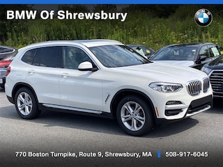 new 2021 BMW X3 PHEV xDrive30e SUV for sale near Worcester