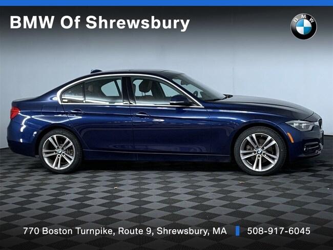 Certified Pre Owned 2017 BMW 330i xDrive Sedan Shrewsbury