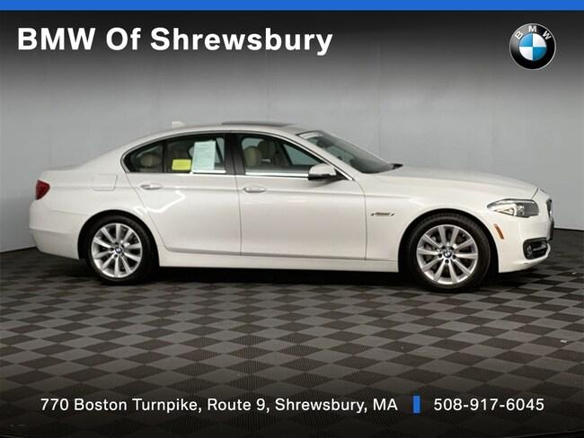 Certified Pre Owned 2016 BMW 535i xDrive Sedan Shrewsbury