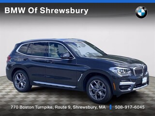 new 2021 BMW X3 xDrive30i SUV for sale near Worcester