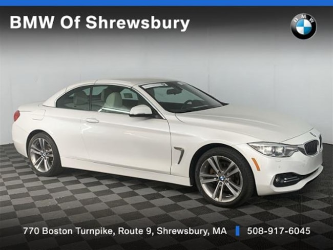 Certified Pre Owned 2017 BMW 430i xDrive SULEV Convertible Shrewsbury