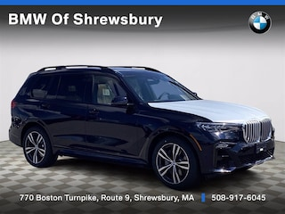 new 2021 BMW X7 xDrive40i SUV for sale near Worcester