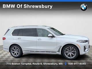 new 2019 BMW X7 xDrive40i SUV for sale near Worcester