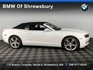 used 2012 Chevrolet Camaro 1LT Convertible for sale near Worcester