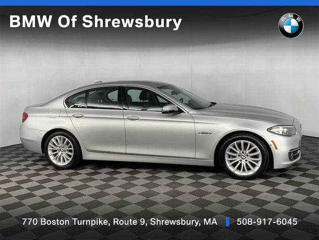 Used 2016 BMW 528i xDrive Sedan Shrewsbury