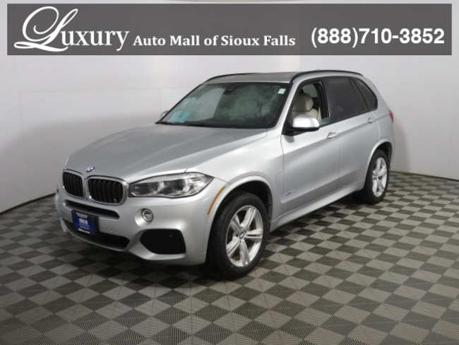 Certified Pre-Owned 2018 BMW X5 xDrive35i xDrive35i SAV in Sioux Falls
