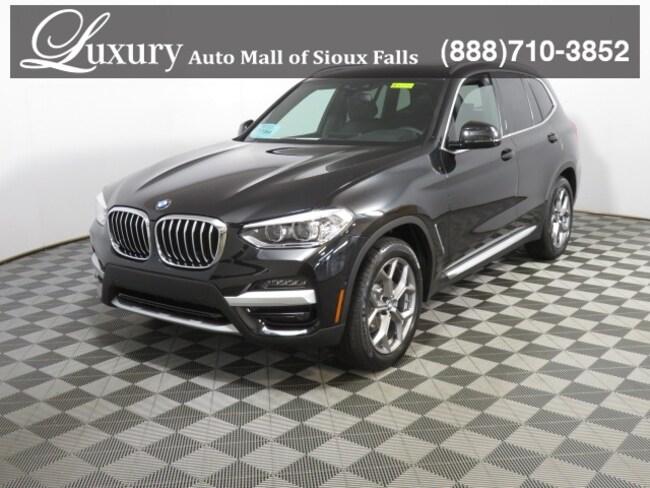 New 2020 BMW X3 xDrive30i SAV in Sioux Falls