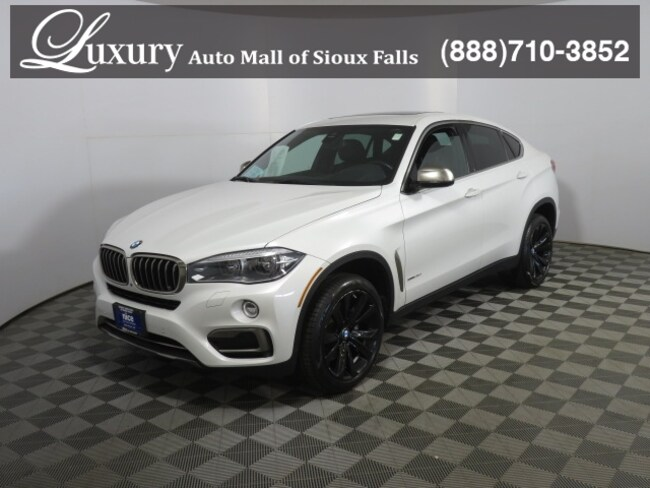 Certified Pre-Owned 2017 BMW X6 xDrive35i xDrive35i SAV in Sioux Falls