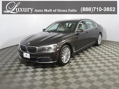 Certified Pre-Owned 2017 BMW 740i xDrive Sedan xDrive Sedan WBA7E4C58HGU99404 for Sale in Sioux Falls