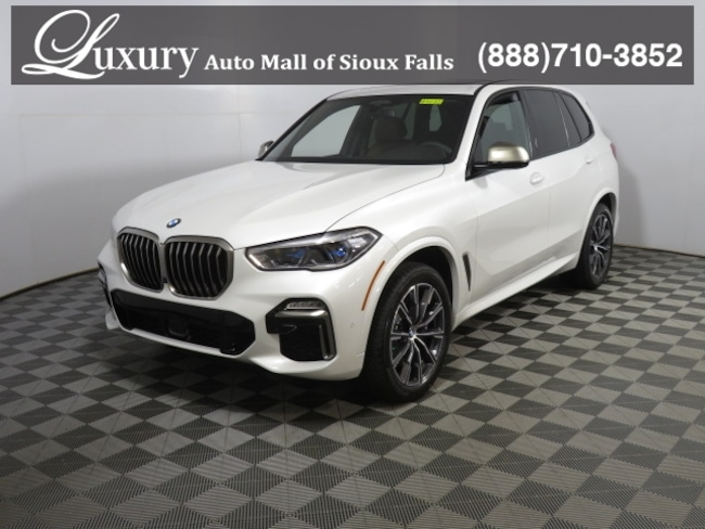 New 2020 BMW X5 M50i SAV in Sioux Falls