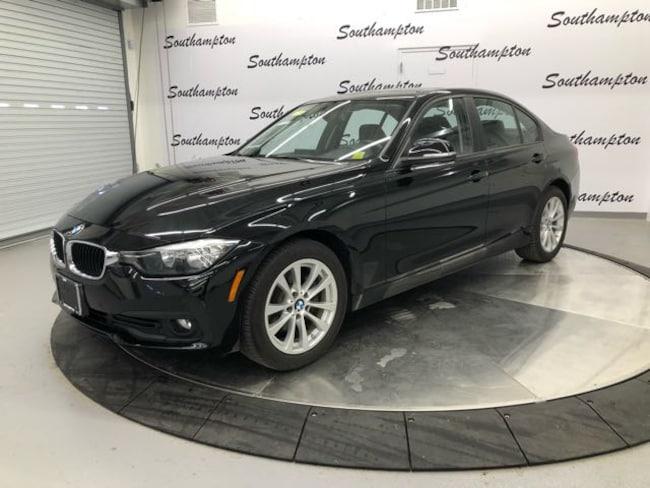 Certified Pre-Owned 2016 BMW 320i xDrive Sedan For Sale Southampton, New York