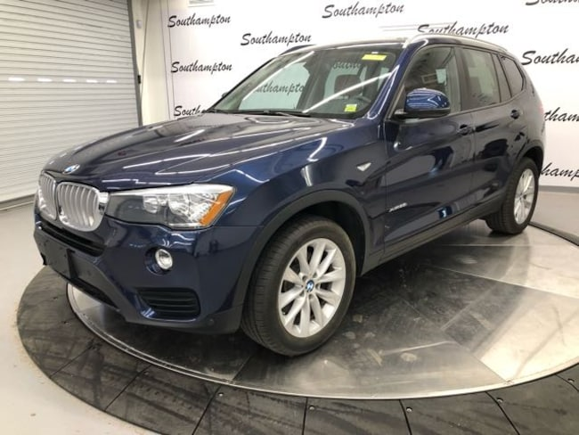 Certified Pre-Owned 2016 BMW X3 xDrive28i SAV For Sale Southampton, New York