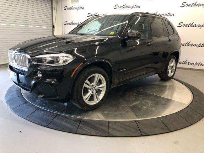 Certified Pre-Owned 2015 BMW X5 xDrive50i SUV For Sale Southampton, New York
