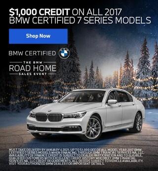 $1,000 BMW 7 Series