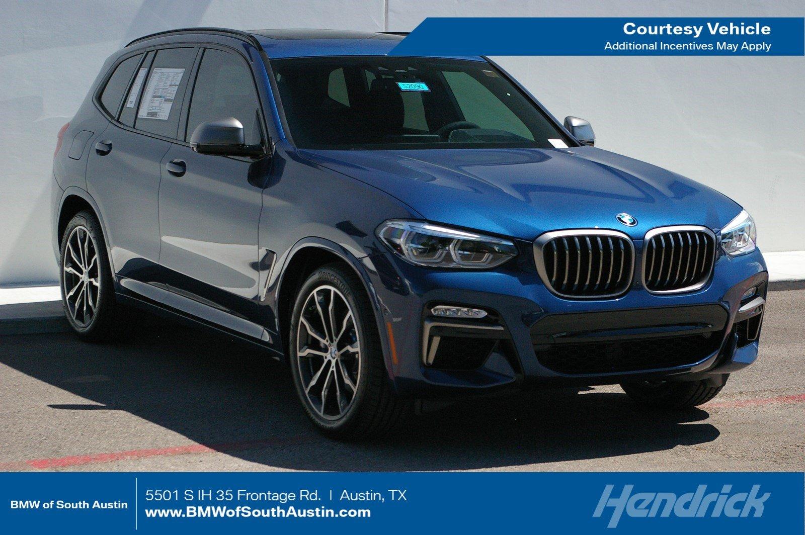 2019 BMW X3 in Austin - BMW of South Austin