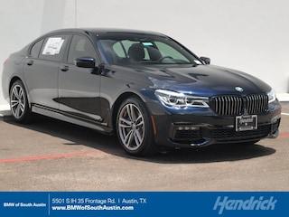 2018 BMW 7 Series 750i Sedan