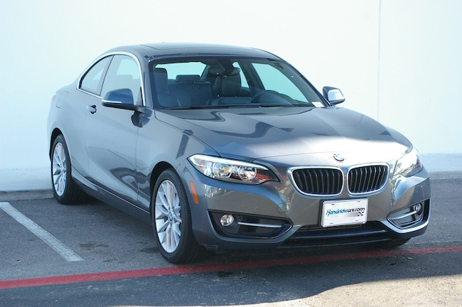 Certified Pre-Owned 2016 BMW 2 Series 228i Coupe Kansas City
