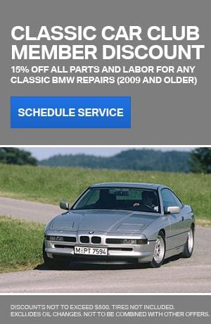 Classic Car Club Member Discount
