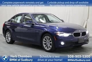 Certified Pre-Owned 2018 BMW 320i xDrive Sedan Sudbury, MA