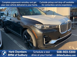 New 2020 BMW X7 xDrive40i SAV Sudbury, MA