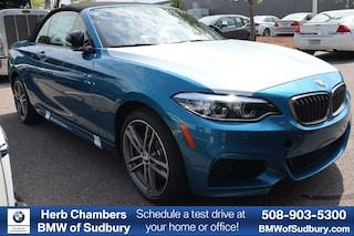 New 2020 BMW M240i xDrive Convertible Sudbury, MA