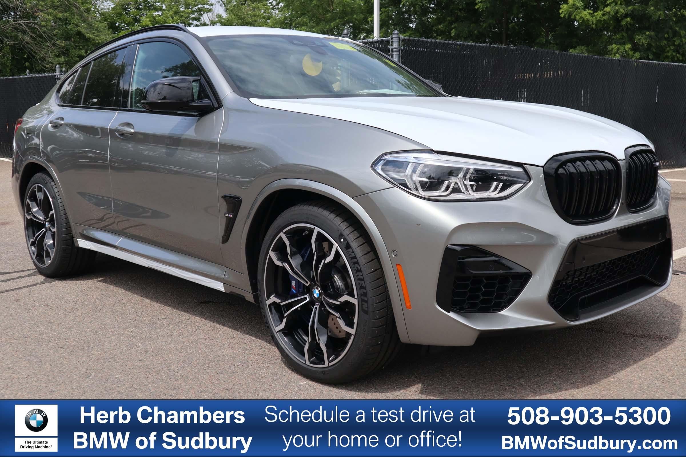 New 2020 BMW X4 M Competition in Sudbury MA near Boston