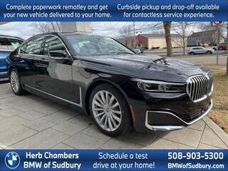 New 2020 BMW 740i xDrive Sedan Sudbury, MA