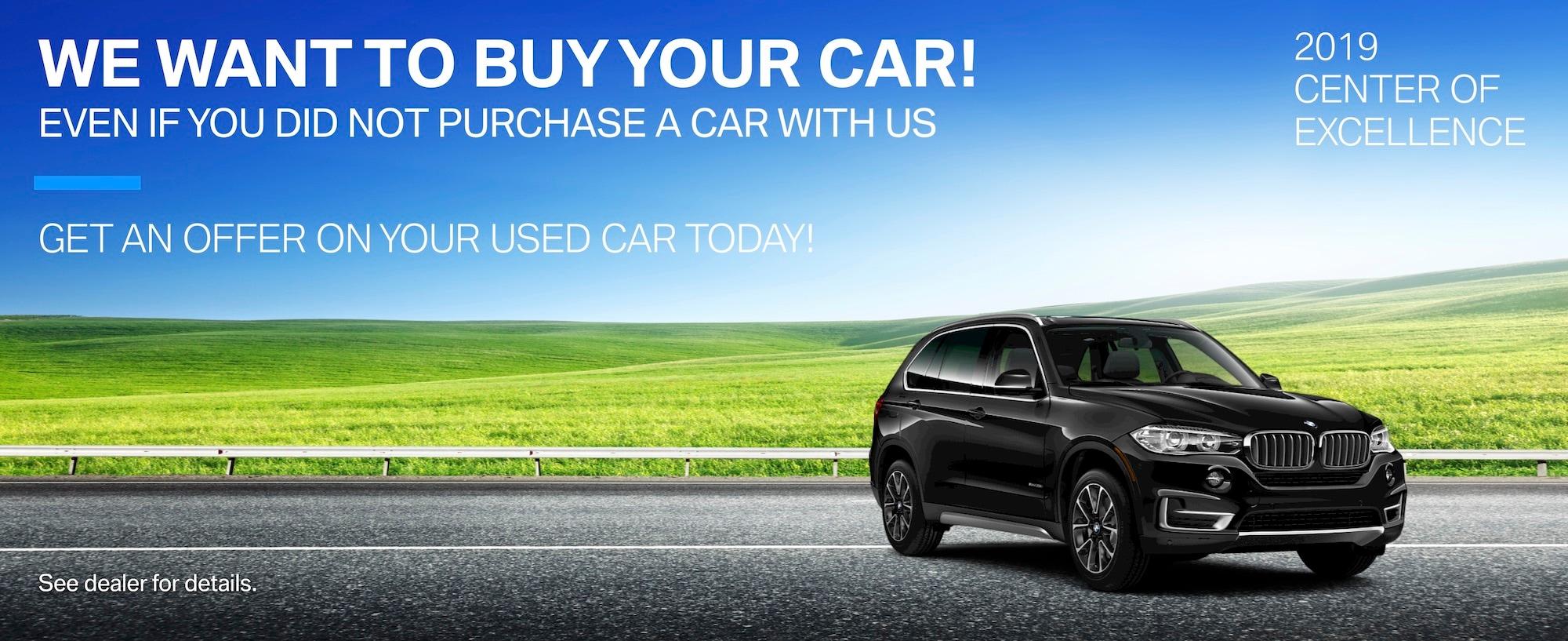 Need A Car Sudbury >> Bmw Vehicle Trade Ins Sell Your Vehicle Near Sudbury Ma