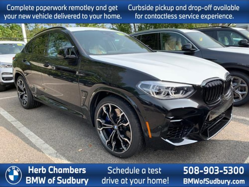 2021 BMW X4 M Competition Sports Activity Coupe