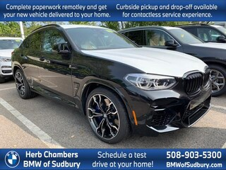 New 2021 BMW X4 M Competition Sports Activity Coupe Sudbury, MA