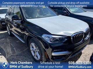 New 2021 BMW X3 xDrive30i SAV Sudbury, MA