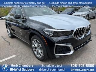 New 2021 BMW X6 xDrive40i Sports Activity Coupe Sudbury, MA