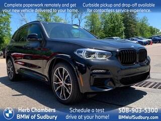 New 2021 BMW X3 M40i SAV Sudbury, MA