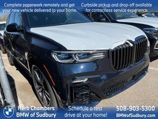 New 2021 BMW X7 M50i SAV Sudbury, MA