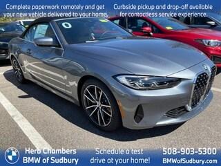New 2021 BMW 430i sDrive Convertible Sudbury, MA
