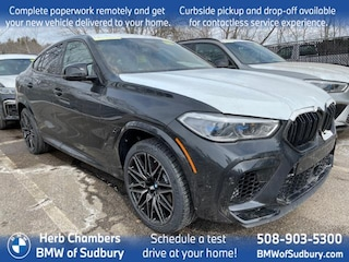 New 2021 BMW X6 M Competition Sports Activity Coupe Sudbury, MA