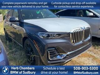 New 2021 BMW X7 xDrive40i SUV Sudbury, MA