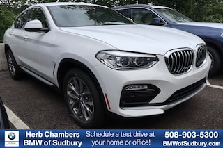 New 2019 BMW X4 xDrive30i Sports Activity Coupe Sudbury, MA