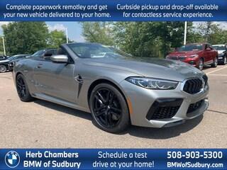 New 2020 BMW M8 AWD Convertible Sudbury, MA